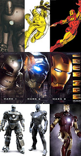 Iron Man Costume Evolution