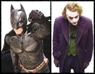 Batman Dark Knight Costume & Joker Costume