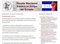 FRENTE NACIONAL DE RESISTENCIA