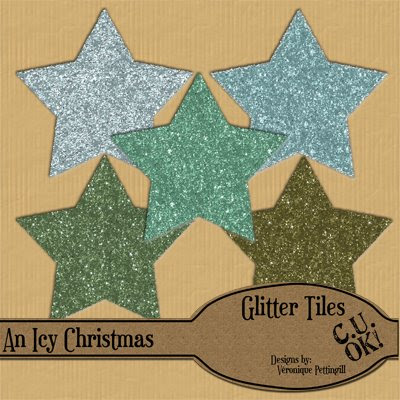 Icy Christmas Glitter tiles by The Scrapping Tree Glitter+tile+previews