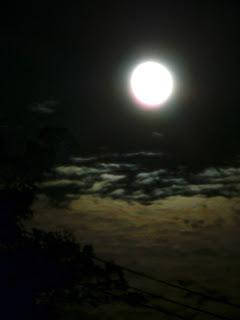 glorious November moon
