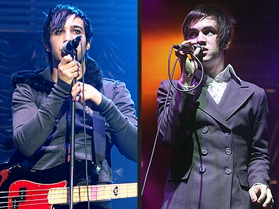 Pete Wentz And Brendon Urie