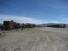 Cemetario de los Trenos, Uyuni