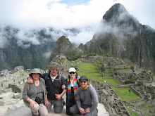 4 Happy Trekkers Make it to Machu Pichu