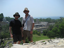 Hame and Dave at the top of the Temple of the Count