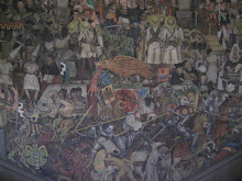 Main Plate of Diego Rivera Mural