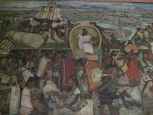Aztec Scene