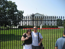 Lena and Dave at the Whitehouse