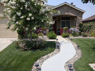 Home is where the heart is our first entry welcome to - Front door walkways and paths ...