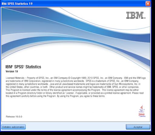 SPSS Statistics 19 Español Full - Descargar Gratis