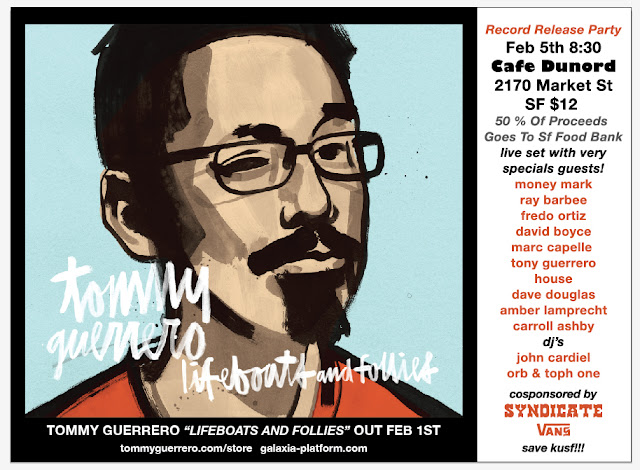 Tommy G Record Release