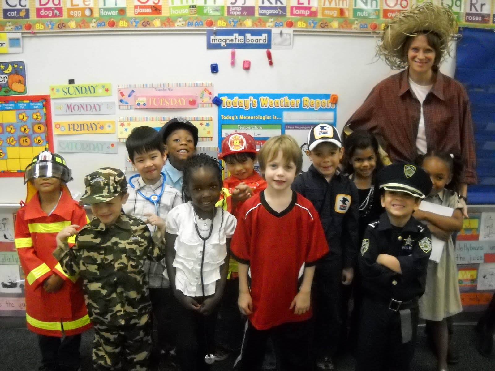 Community Helper Dress Up Day!