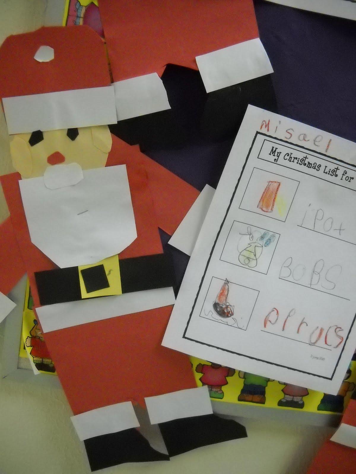 Santa Letter Template For Kindergarten Santa letters