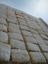 Lavender Vanilla shortbread (samples for baker's market)