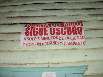 PUERTA DEL MULO A OSCURA
