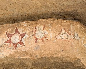 Paint Rock Pictographs, Paint Rock, Texas, ©2008 Jim Miller