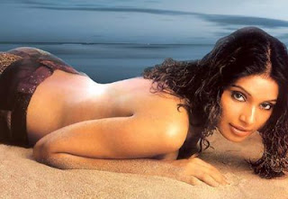 Bipasha Basu Topless Maxim Photo