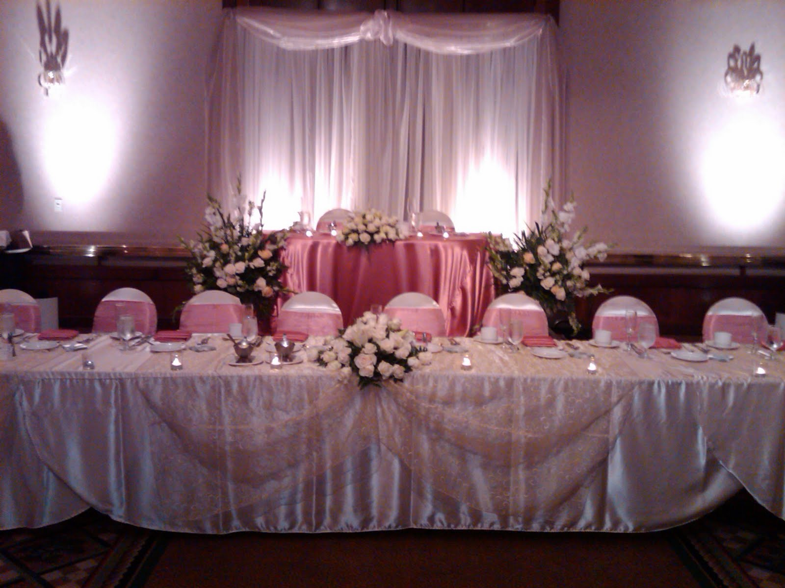 Quinceanera Head Table Decorations Photograph | Pin Quincean