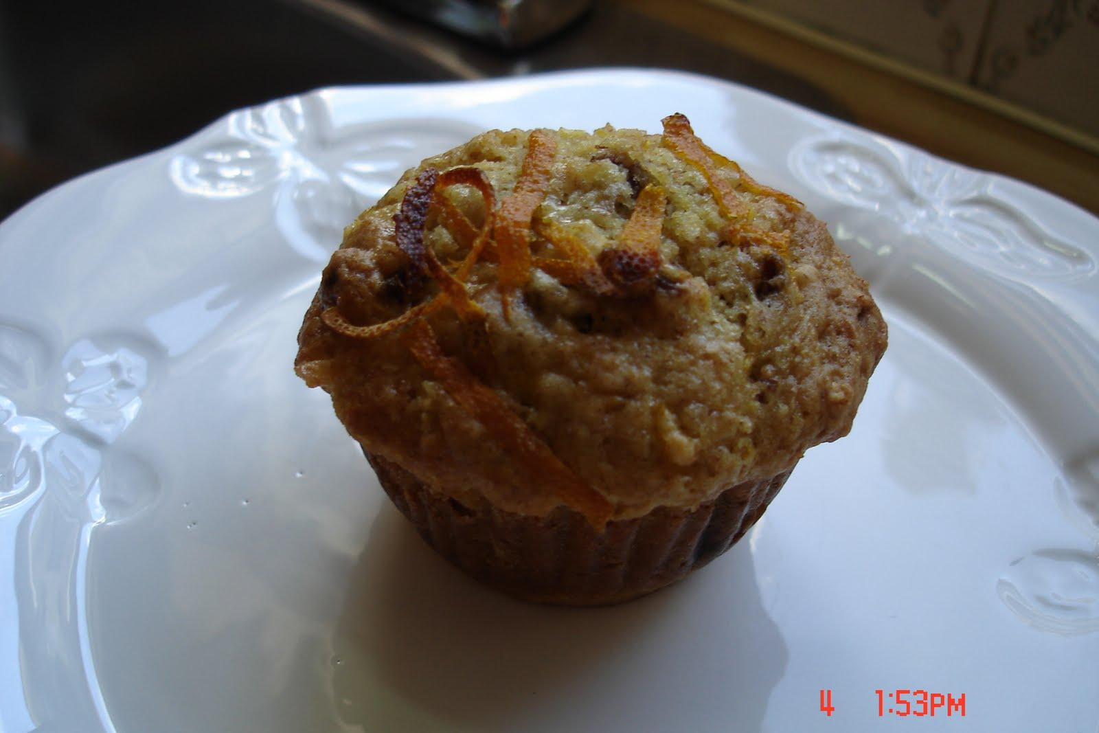 le carnet gourmand de simone muffin a l 39 orange et aux dattes. Black Bedroom Furniture Sets. Home Design Ideas