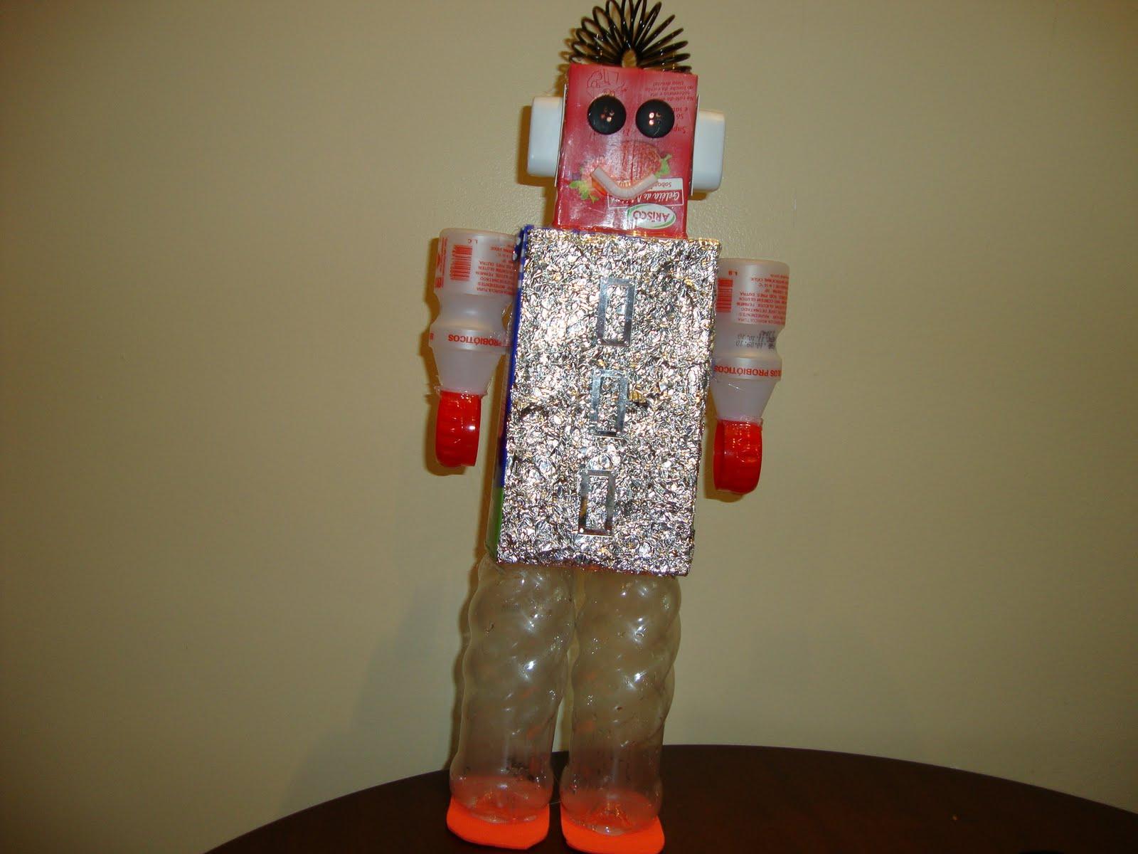 Muitas vezes Informatica Educativa: Trabalho de Robótica - Material Reciclado QN36