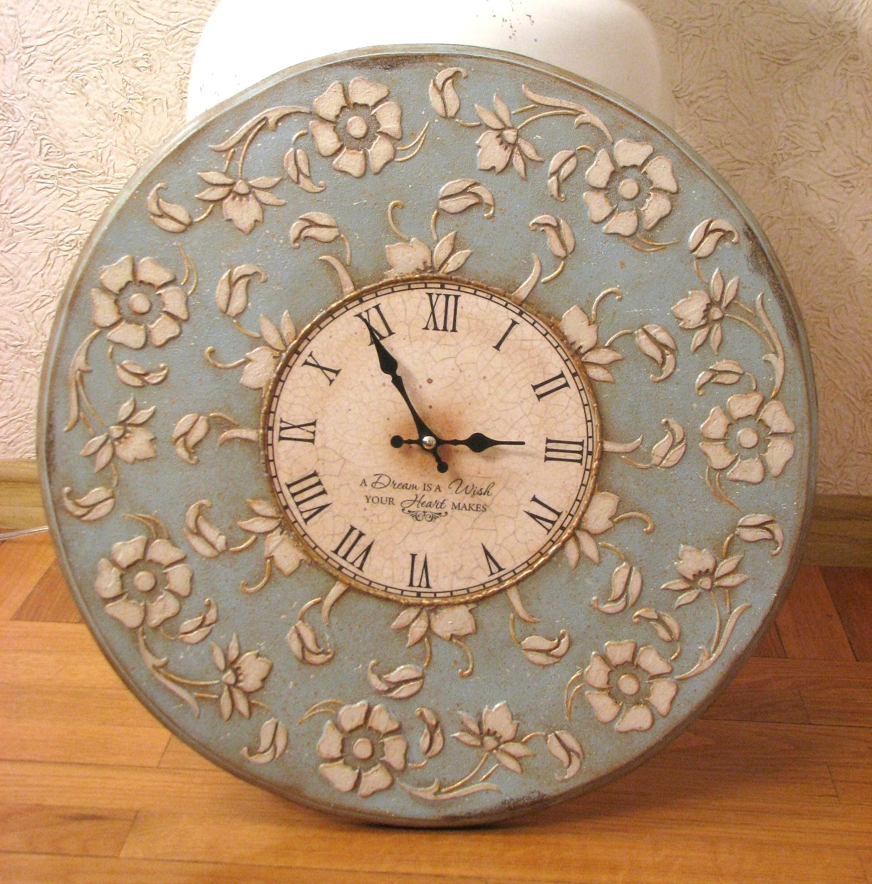Оригинальные настенные часы своими руками Дизайн 44