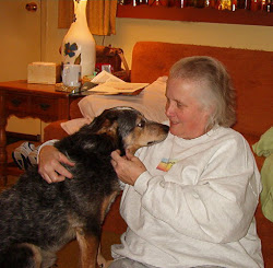 Wiggles Blue Heeler and his mommy, me
