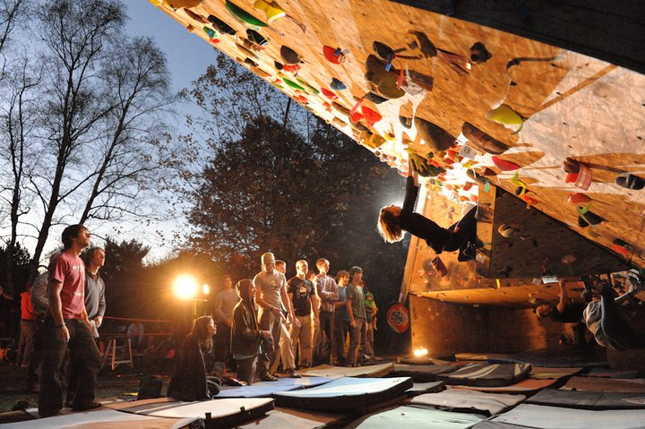 On the Rocks The Biggest Backyard Bouldering Comp Ever!