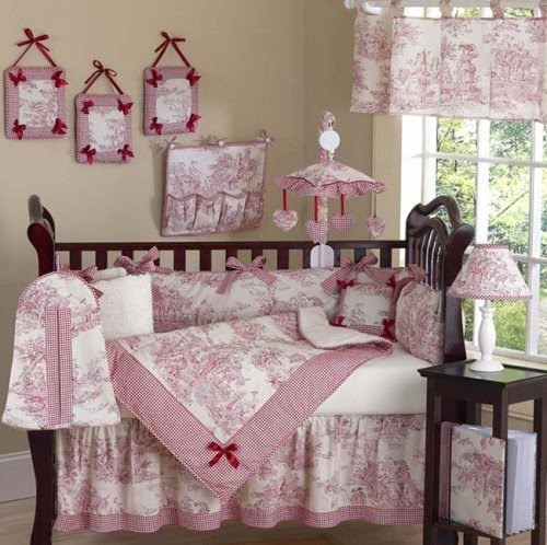 I want a house like this toile de jouy baby bedroom - Toile de jouy decoration ...