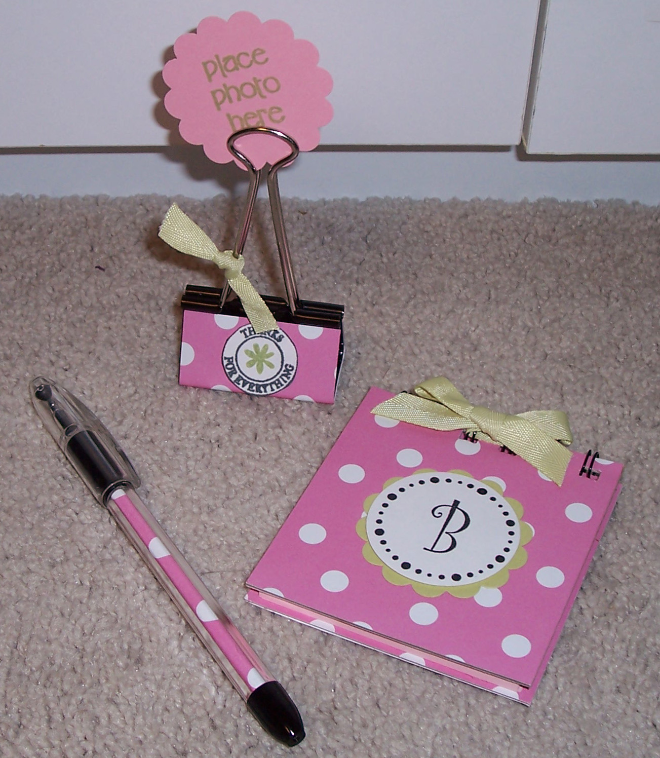 my cre8tive therapy baby shower hostess gifts