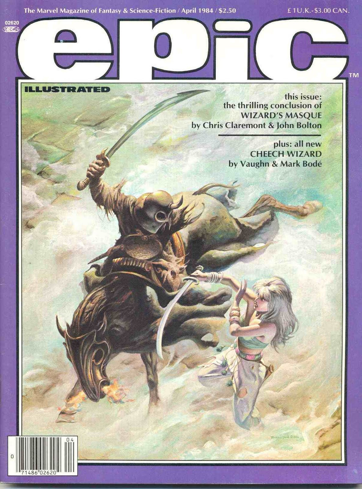 EPIC ILLUSTRATED - February 1983