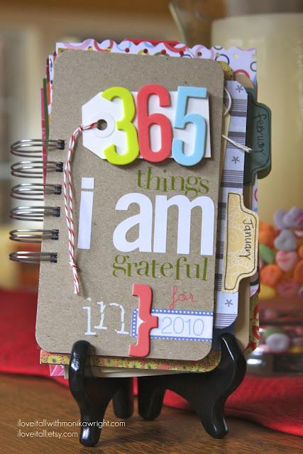 Gratitude Journal | iloveitall.etsy.com