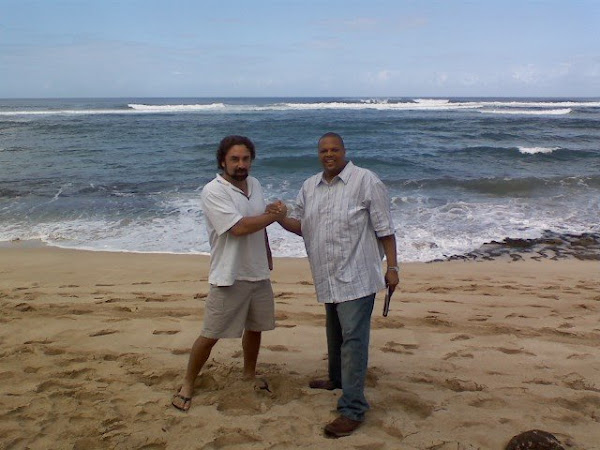 Mirko and I in Hawaii