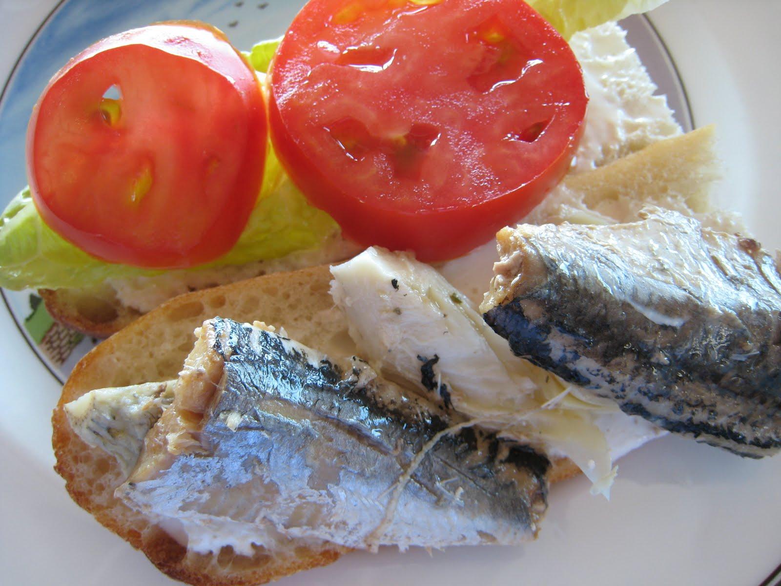Zoomie station sardine sandy for Sardine lunch ideas