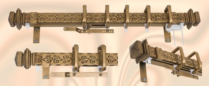 decorative drapery hardware custom curtain rods drapery