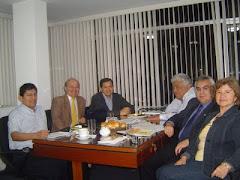 Directivos de la SPR con el Dr. Pablo Jimenez (OPS) en Lima (4 Dic 2009)