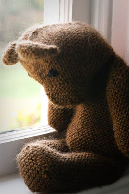 Brown Knitted Bear
