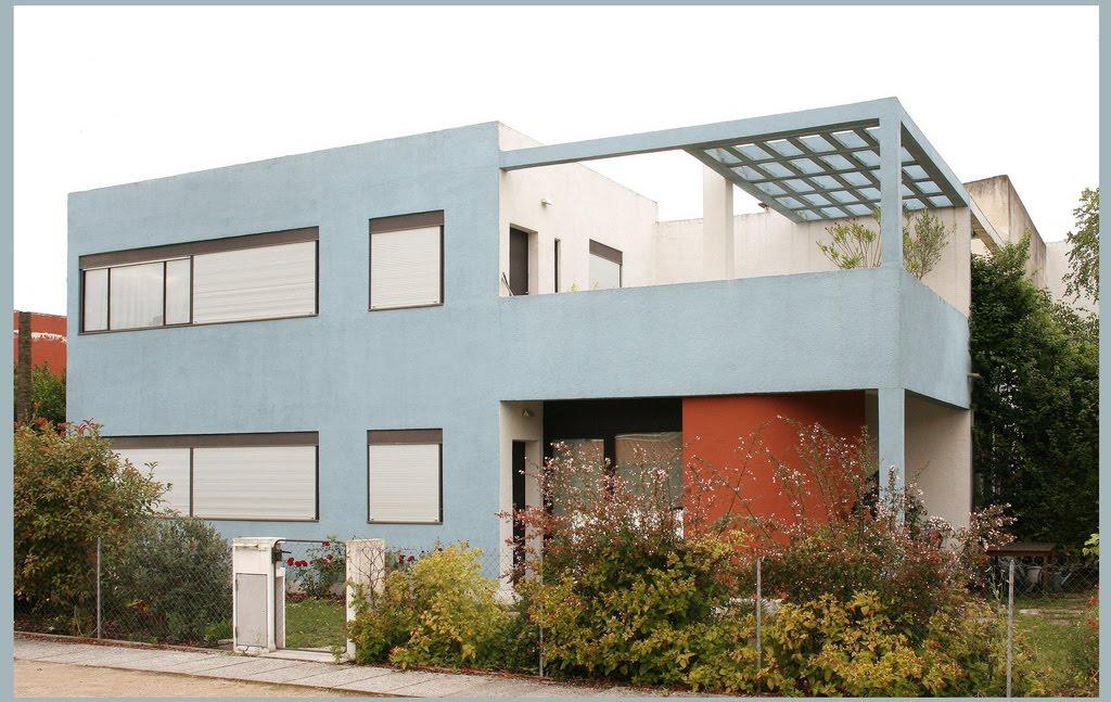 El barrio moderno frug s pessac 1924 le corbusier - Casas de le corbusier ...