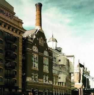 Anchor Brewhouse en los Docklands de Londres
