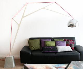 Lámpara Arco Moderna