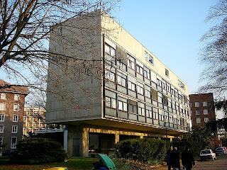 Le Corbusier Pabellón Suizo. Imágenes, historia, arquitectura