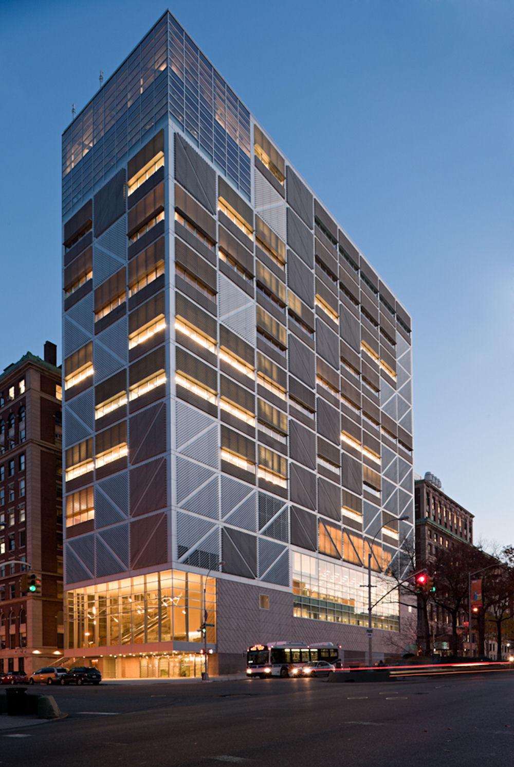 Edificio Interdisciplinar para la Universidad de Columbia de Rafael ...