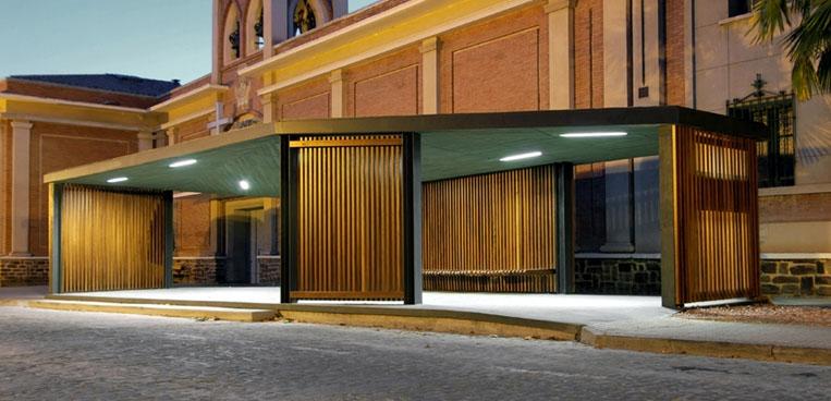 Dise o urbano marquesina de autobuses de sergio sebastian for Blog arquitectura y diseno