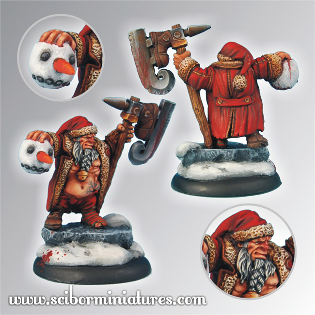 Scibor Miniatures, Christmas Snowman Slayer