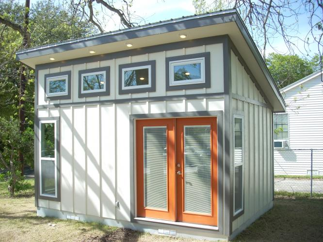 Harper architectural design roof portfolio for Shed roof tiny house