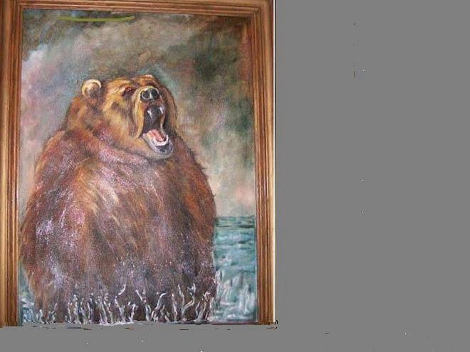 Bruno 18x20 Sold  # 176