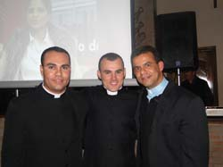 PADRE ADRIANO, PADRE GEAN E PADRE LEOMAR