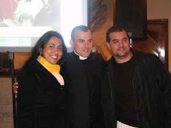FABIANA,  EDINHO E O PADRE