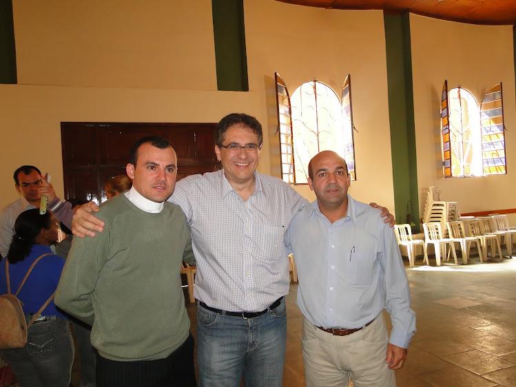 PADRE GEAN, ZARATTINE, PREFEITO CLODOALDO