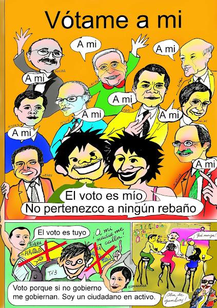 EN DEMOCRACIA DEBES MANDAR TÚ.
