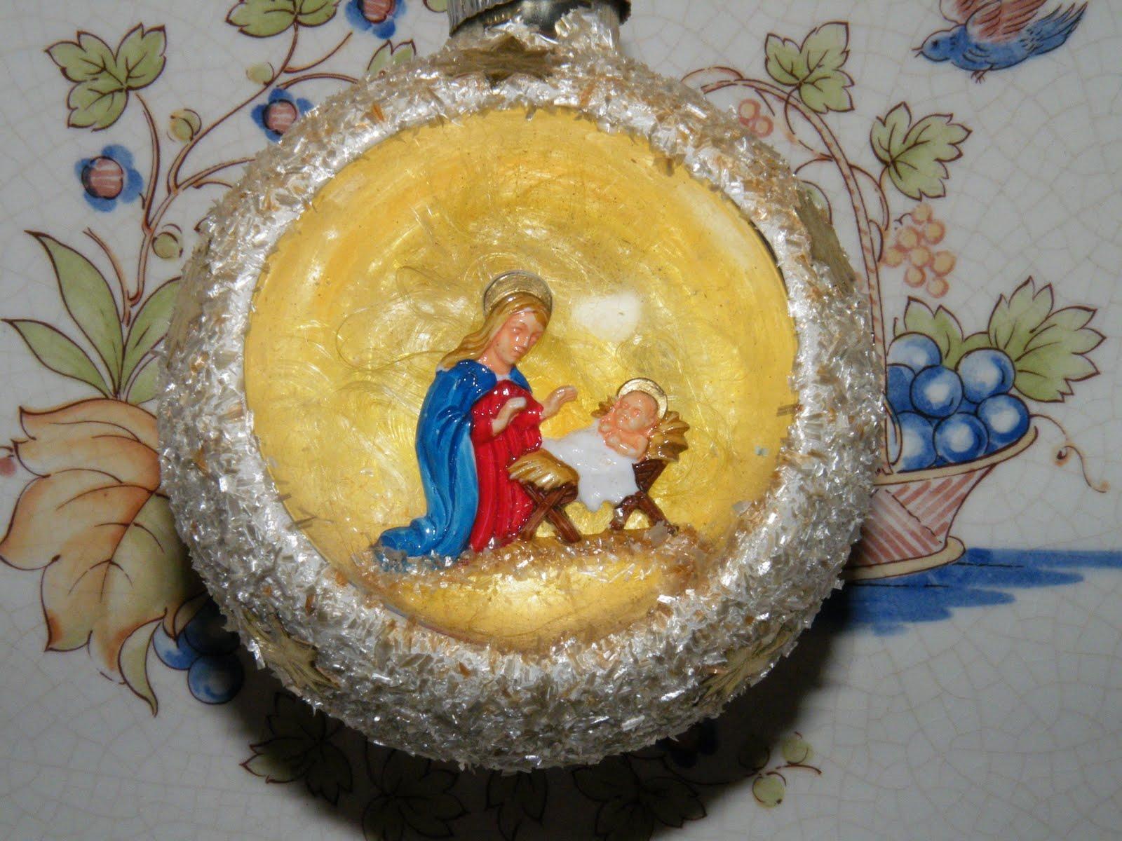 Du four au jardin et mes dix doigts joyeux noel merry christmas - Creche de noel en verre ...